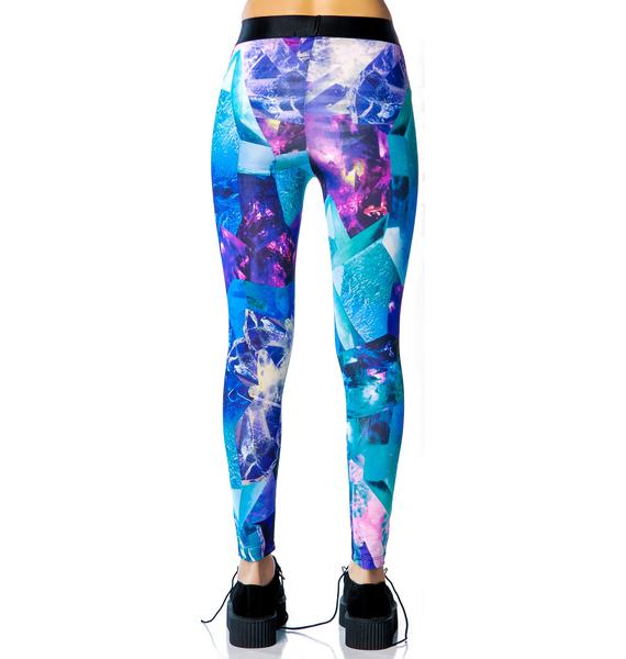 Lip Service Gem Printed Leggings