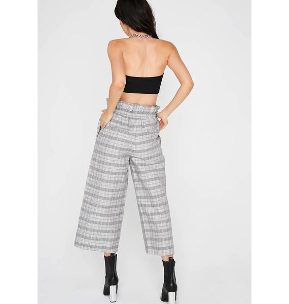 Scholastic Bae Plaid Pants