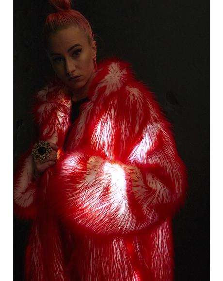 Lit Volcanic Long Light-Up Coat