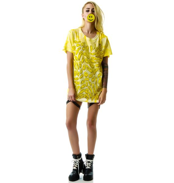 UNIF Smelty Face Tee