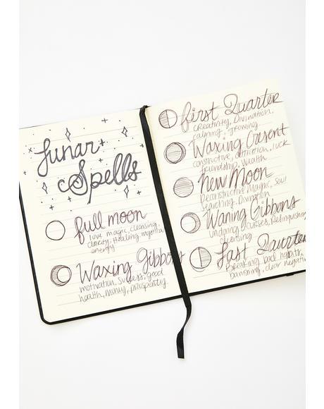 Book Of Spells Journal