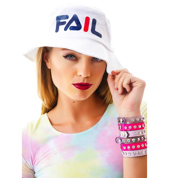 Petals and Peacocks Fail Hat