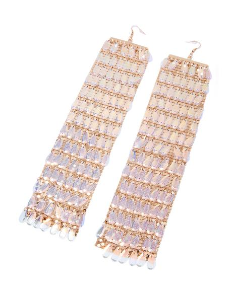 Drippin' Gold Earrings