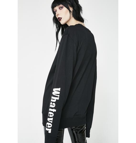 Killstar Black Menthol Sweatshirt