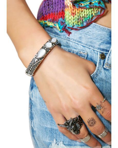 Opalescence Cuff Bracelet
