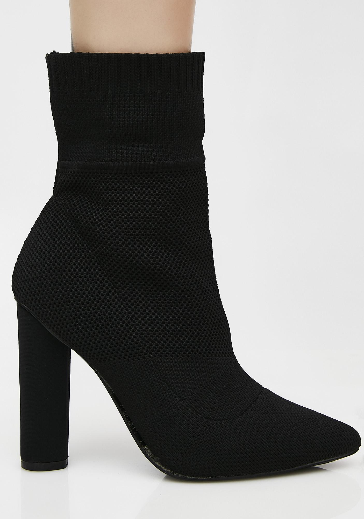 Onyx Hype Bae Sock Booties