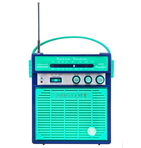 Blue Hawaii Portable Speaker