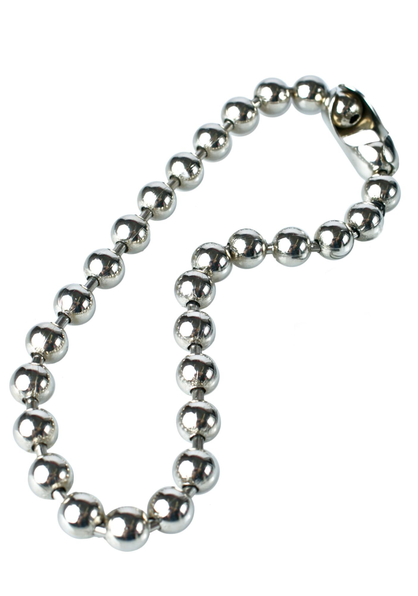 big azz ball 'n chain necklace | dolls kill