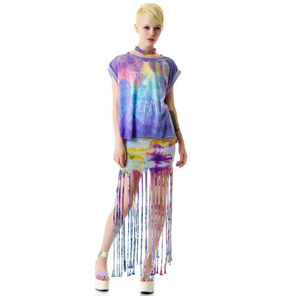 Wildfox Couture Dream On Jagged Edge T