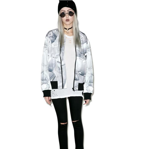 Long Clothing X Pussykrew Bomber Jacket