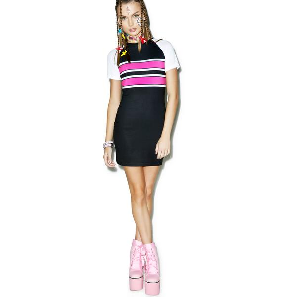 Legally Pink Bodycon Dress