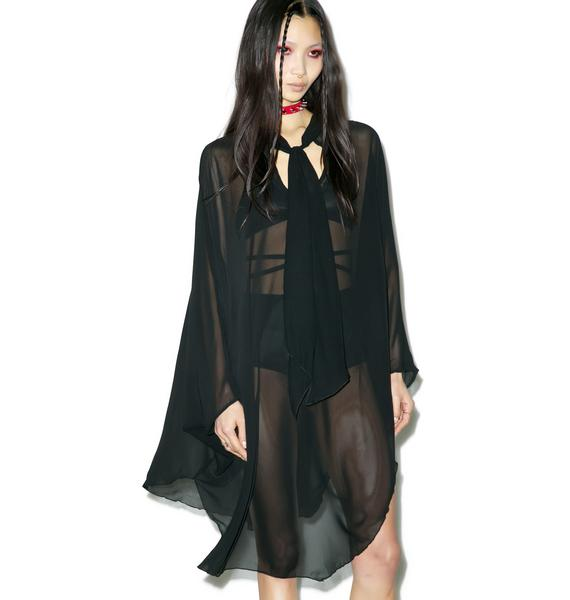 Widow Death Wish Batwing Dress