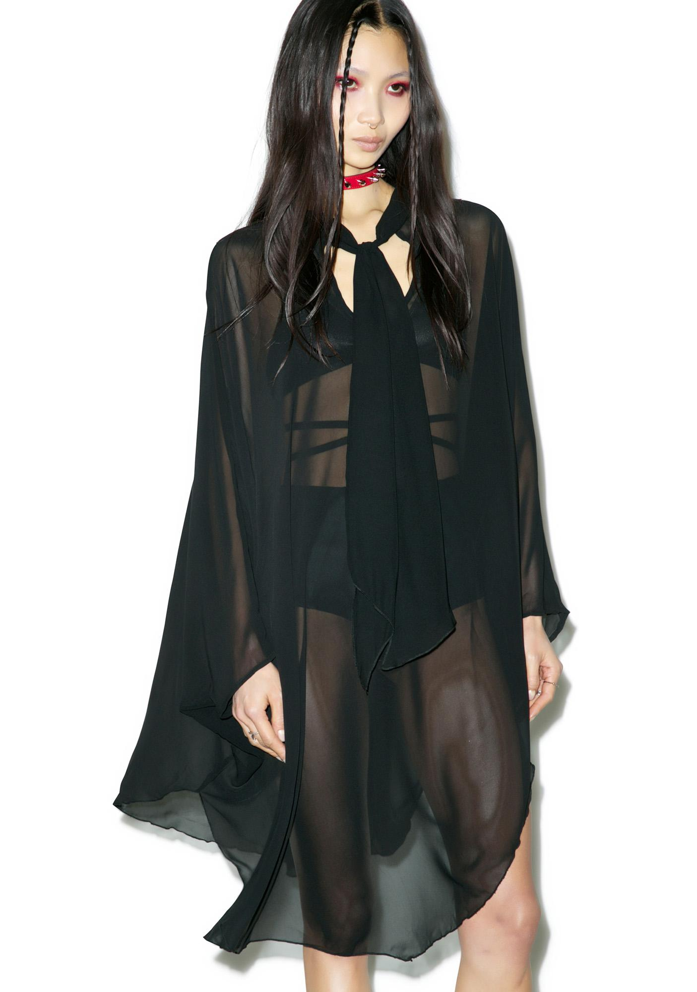 Widow Death Wish Batwing Dress