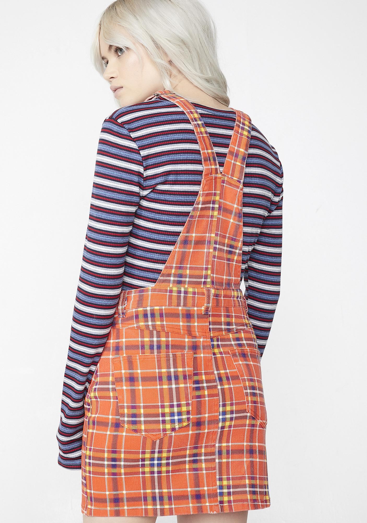 Charmed Cutie Overall Dress