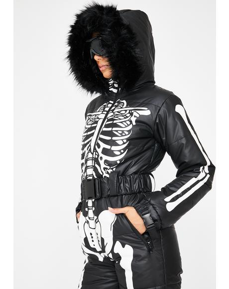 Cold Prey Skeleton Snowsuit