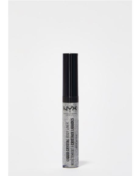 Crystal Silver Liquid Crystal Body Liner