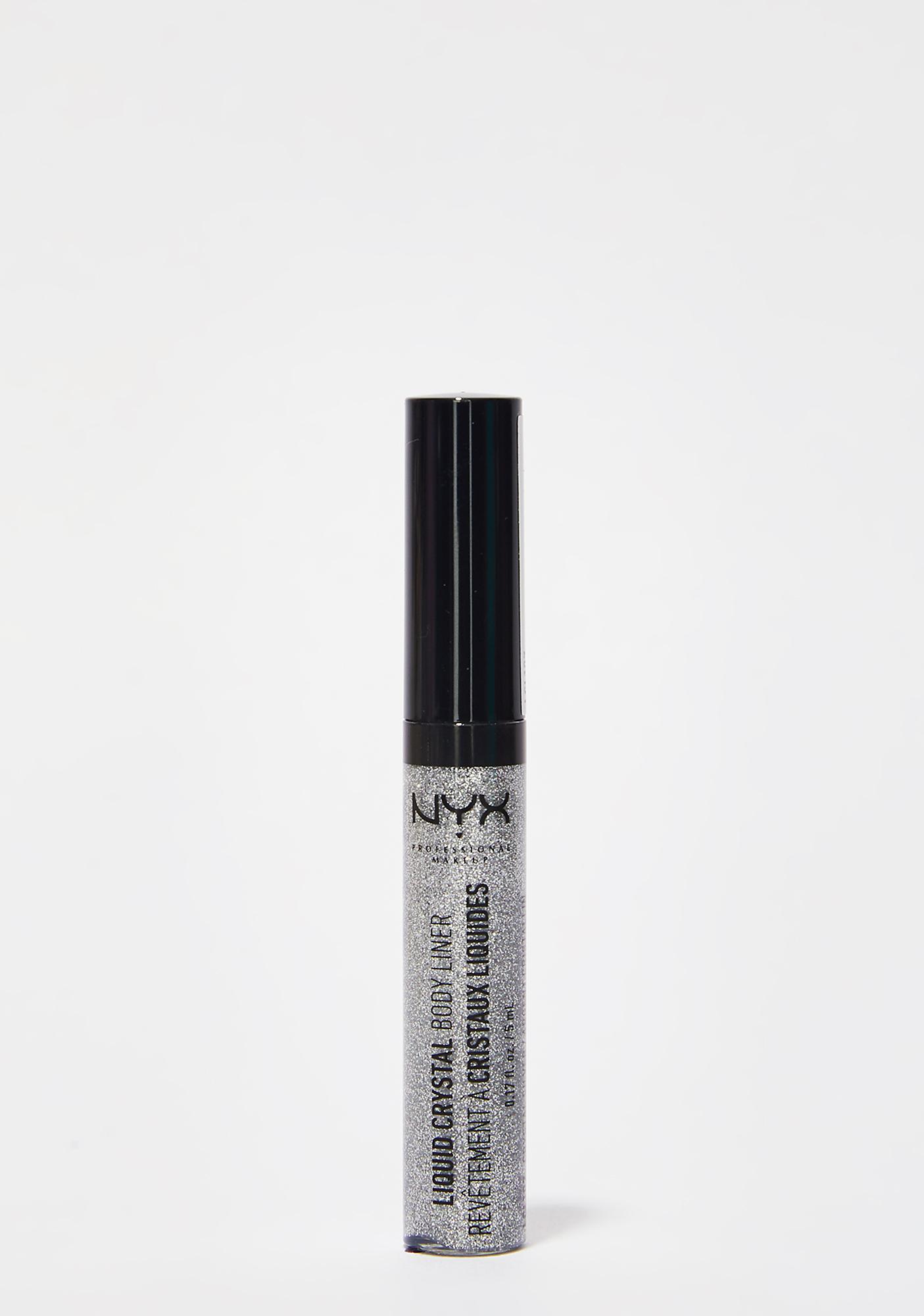 NYX Crystal Silver Liquid Crystal Body Liner