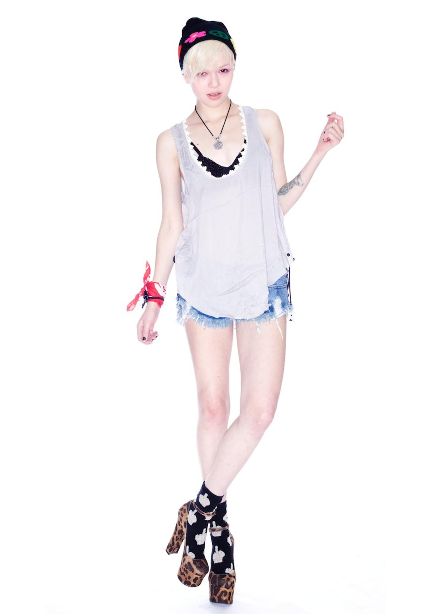 One Teaspoon Almost Famous Top