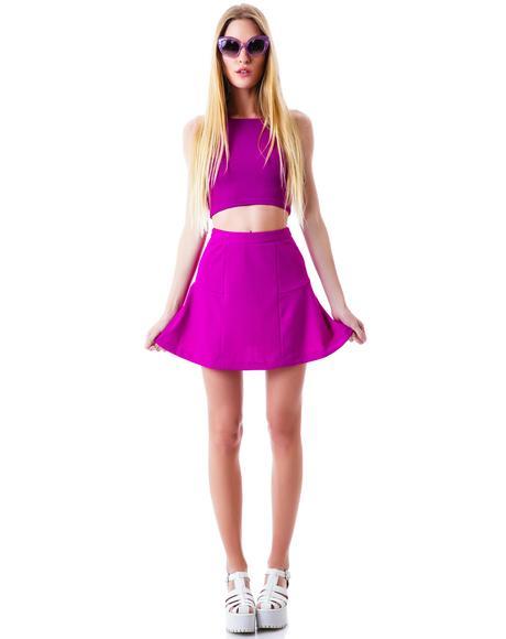 Get Ready Flippy Skirt