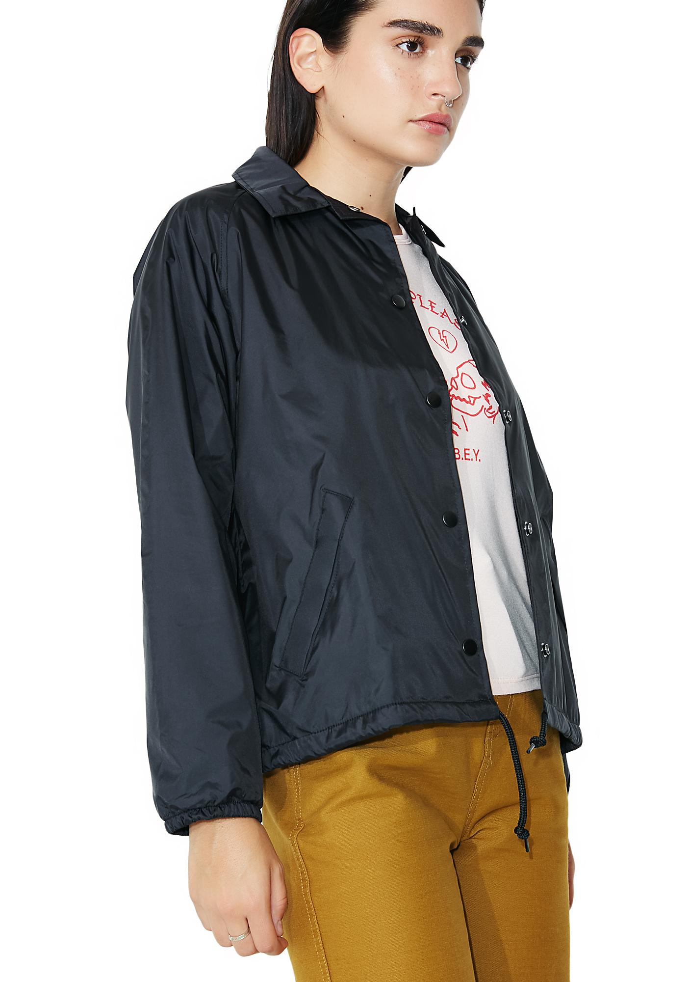 Obey Forbidden Pleasures Coach Jacket