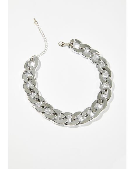 So Icy Chain Choker