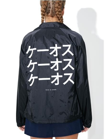 Katakana Coaches Jacket