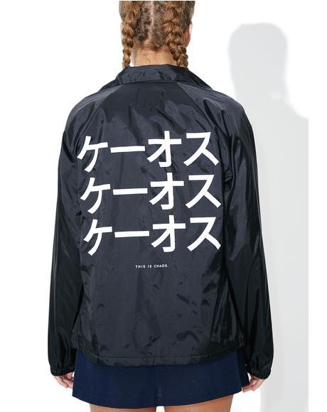 Katakana Coaches Jacket