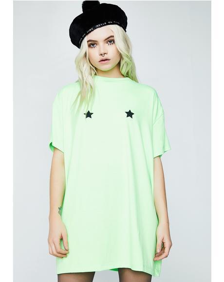 Neon Stars Tee