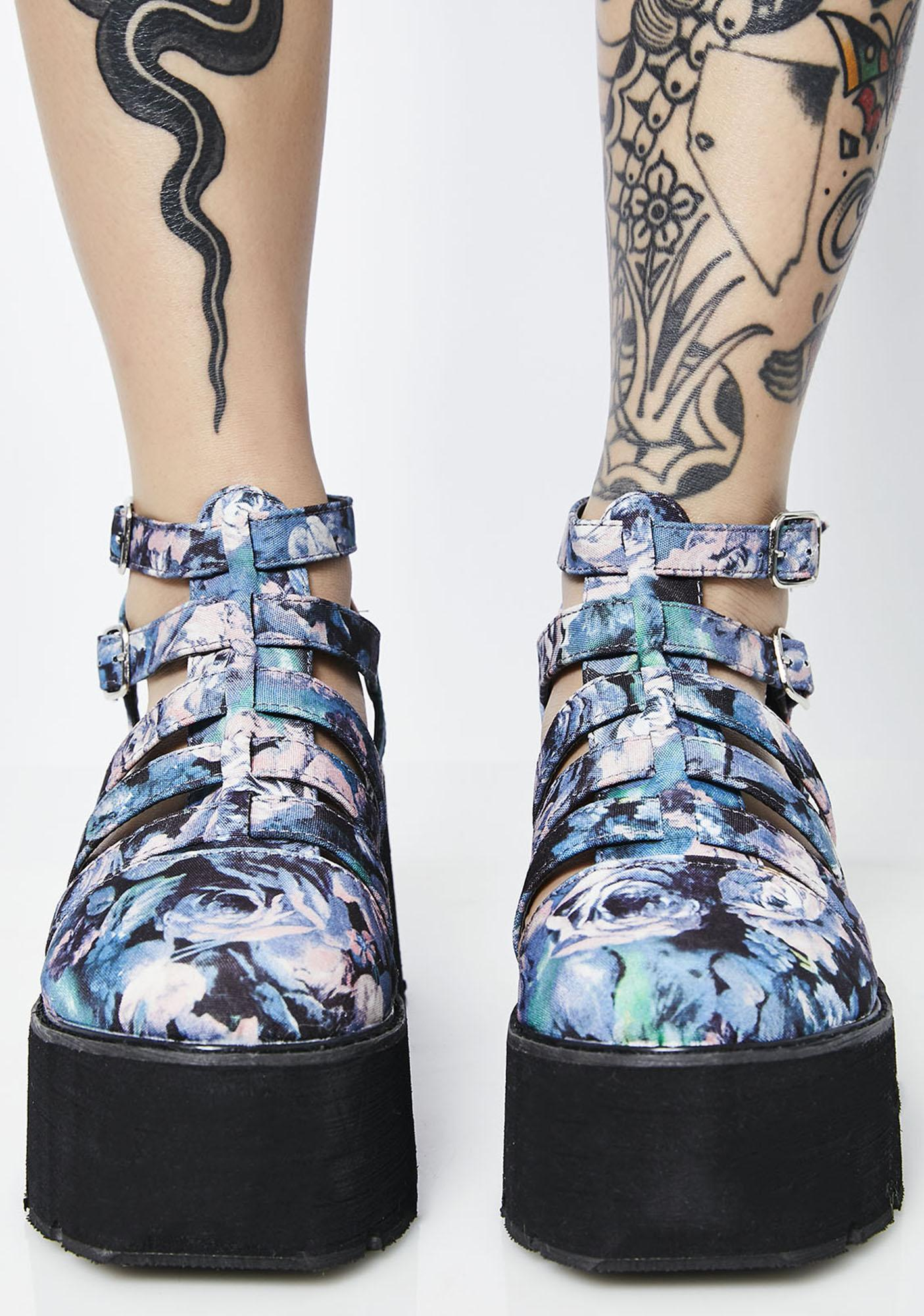 Garden Stompin' Around Platform Sandals