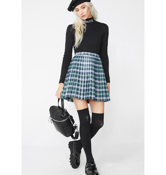 Private Schooled Plaid Skirt