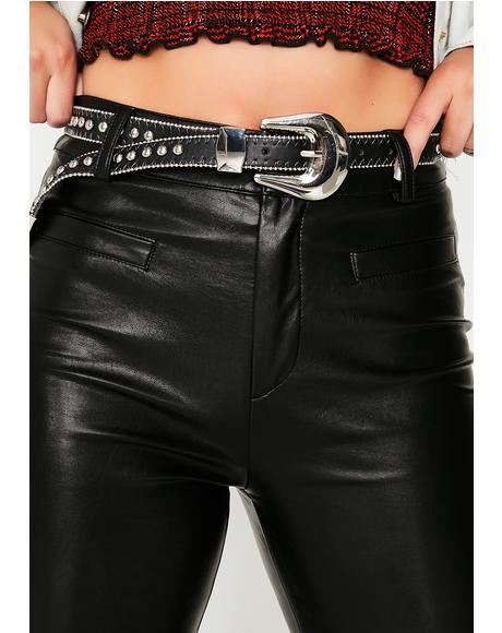 Rude Awakening Studded Belt