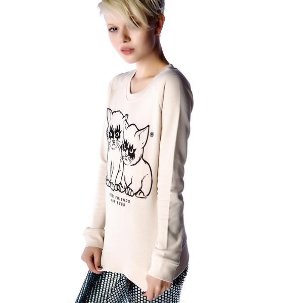 Zoe Karssen Best Friends For Ever Sweater