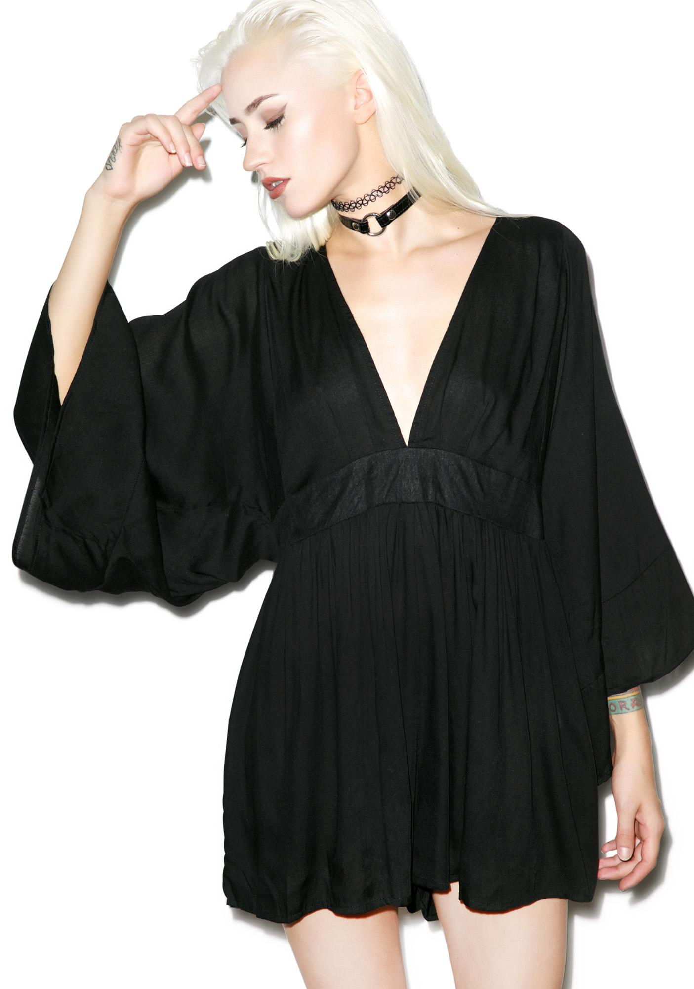 Motel Eclipse Playsuit