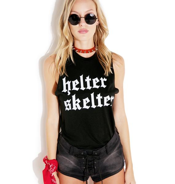 Local Boogeyman Helter Skelter Sleeveless Shirt