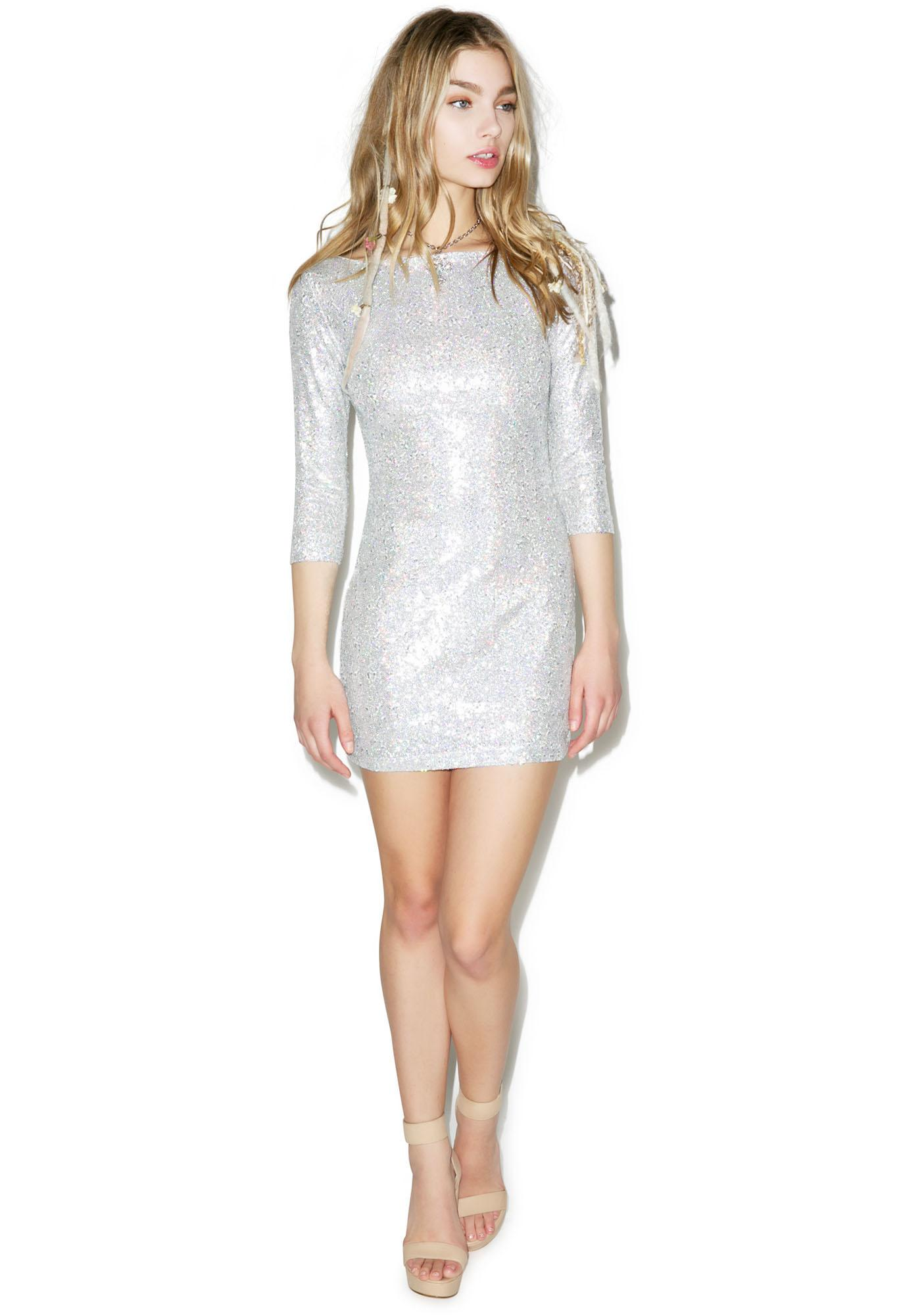 Glamorous Sequins Of Events Dress