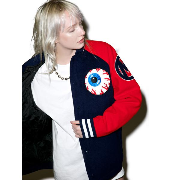 Mishka Varsity Keep Watch Jacket