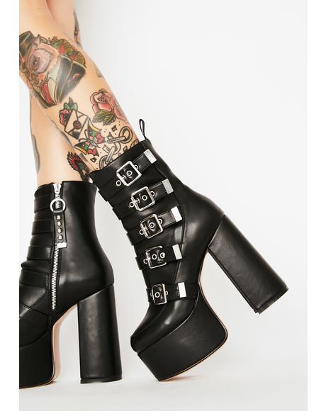 Save It Platform Heels