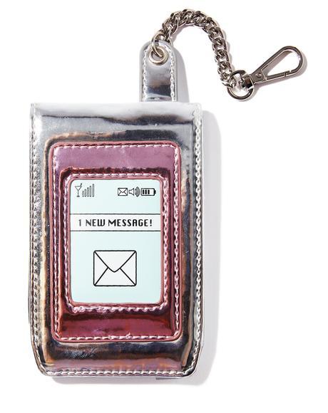 Prank Caller Keychain Wallet