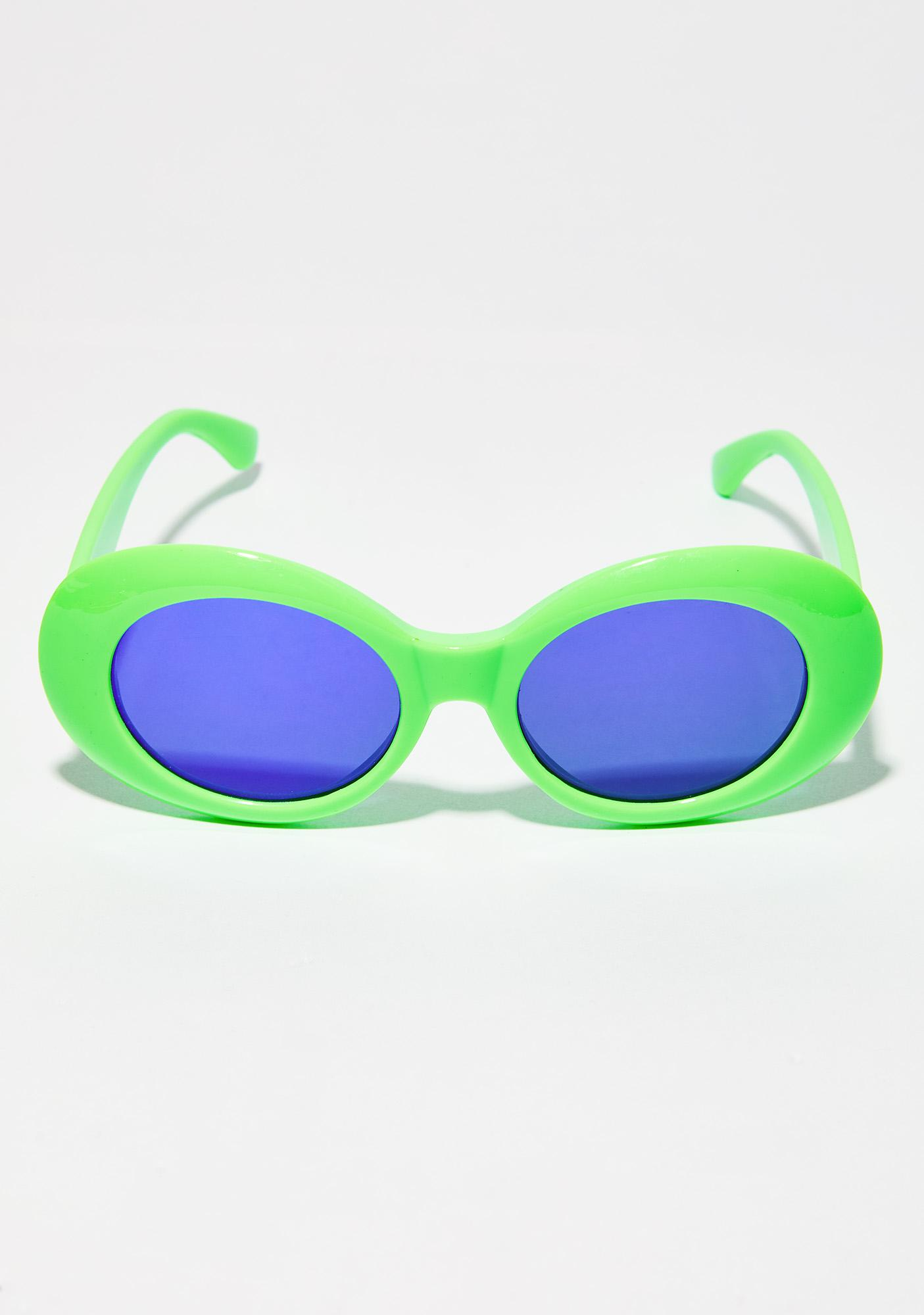 Lime About A Girl Sunglasses