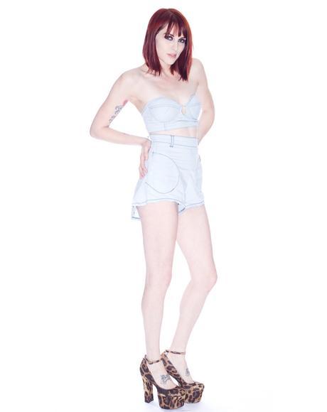 Parisian Highwaisted Shorts