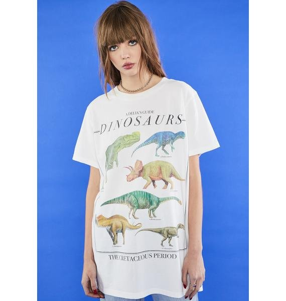 dELiA*s by Dolls Kill Larger Than Life Graphic Tee