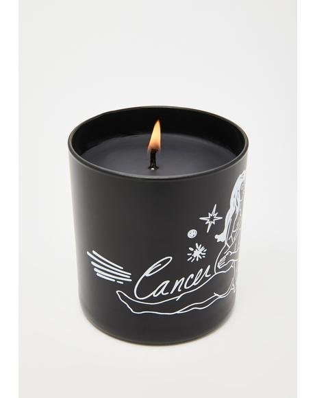 Cancer Zodiac Massage Candle