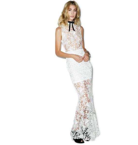 Sleepless Lace Maxi Dress