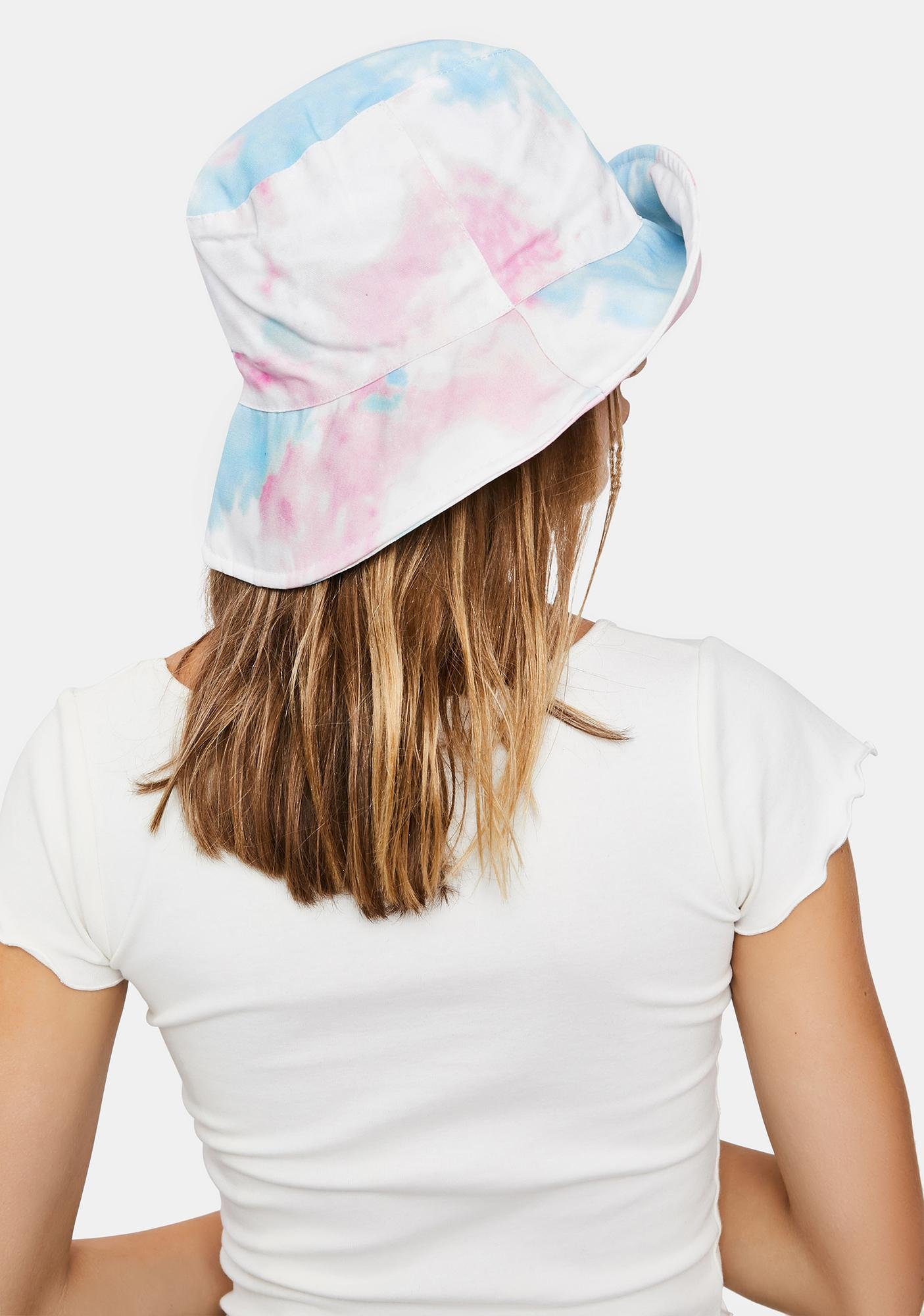 Pastel Washed Up Bucket Hat