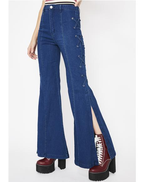 Hippie Hollow Bell Bottoms