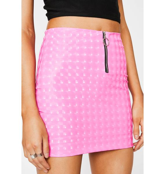 Prism Hellish Mercy Mini Skirt