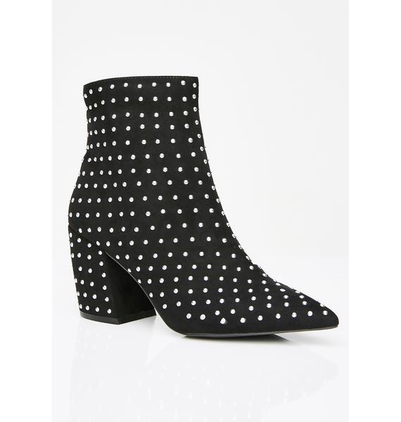 Star Strut Ankle Boots