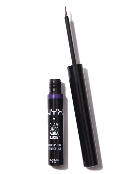 Purple Aqua Luxe Glam Liner