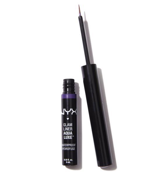 NYX  Purple Aqua Luxe Glam Liner