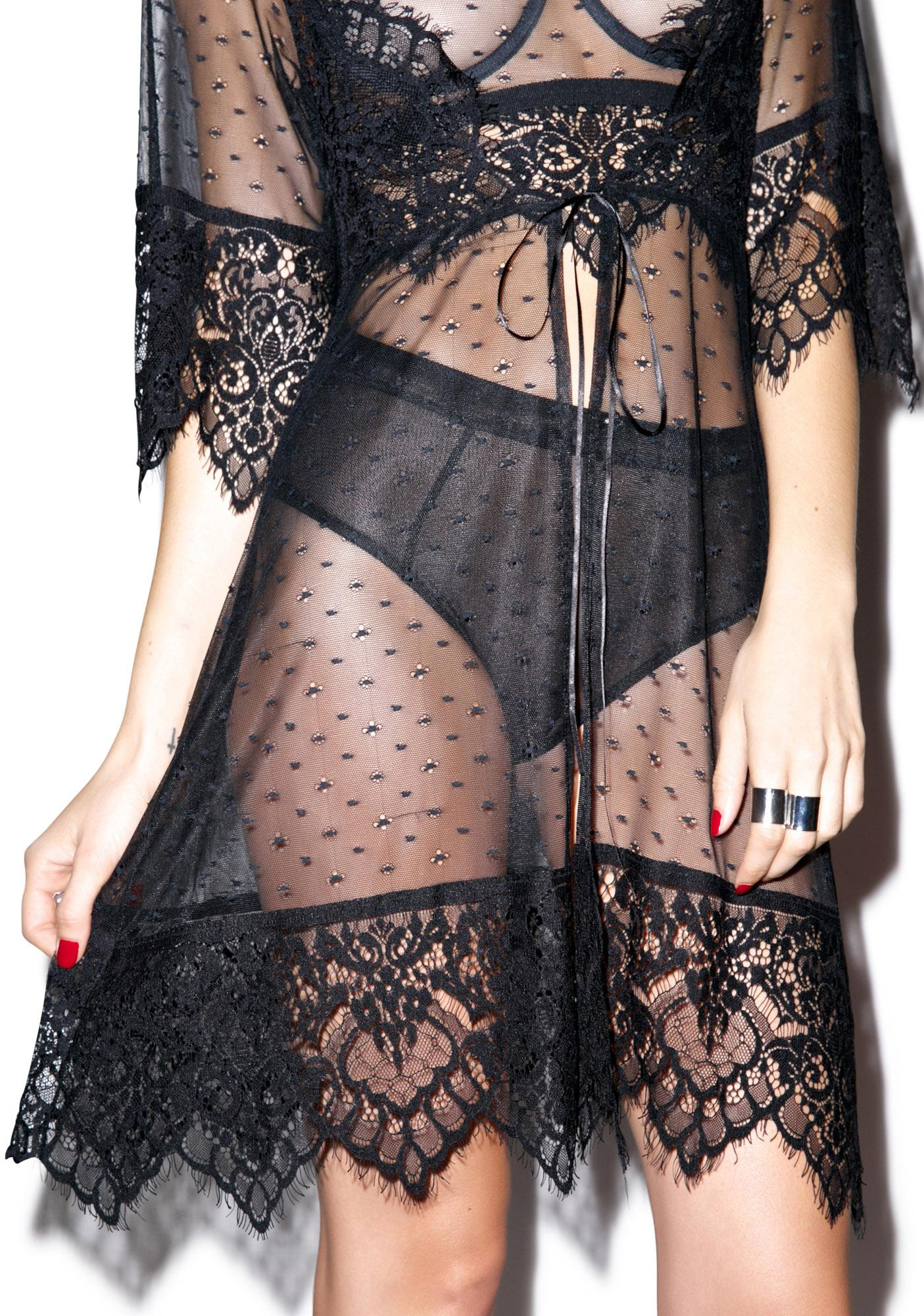 For Love & Lemons Vanity Robe